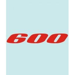 600 - SU-30418 - 160 X 26 MM.
