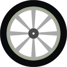 WS-16002-08 2 mm. Lime Grøn