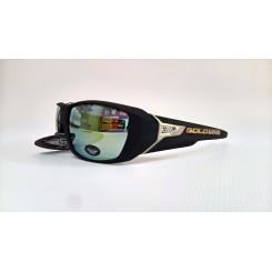 Solbrille black / orange lens